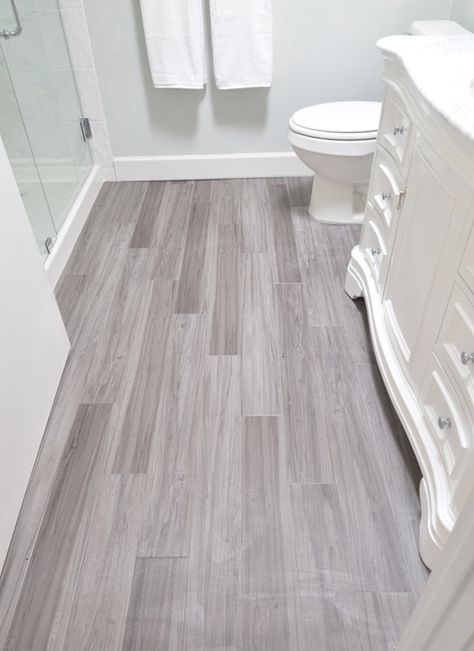 Bathroom Remodel Complete | Bathroom flooring, Home remodeling .