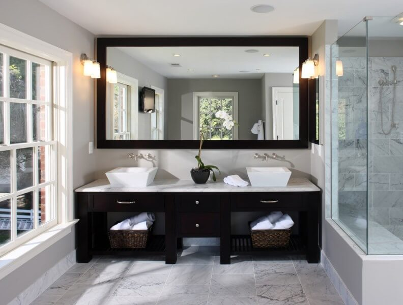 25+ Beautiful Bathroom Mirror Ideas For a Small Bathro