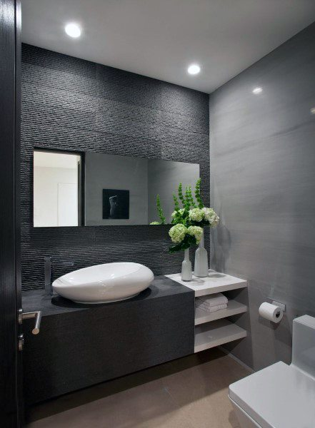 Top 50 Best Bathroom Mirror Ideas - Reflective Interior Desig