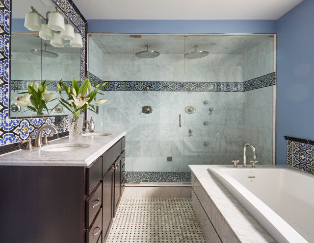 What Homeowners Want in Master Bathroom Showers and Tubs in 20