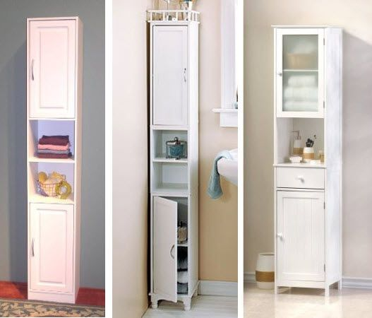 Tall Bathroom Storage Cabinets | Tall bathroom storage, Tall .