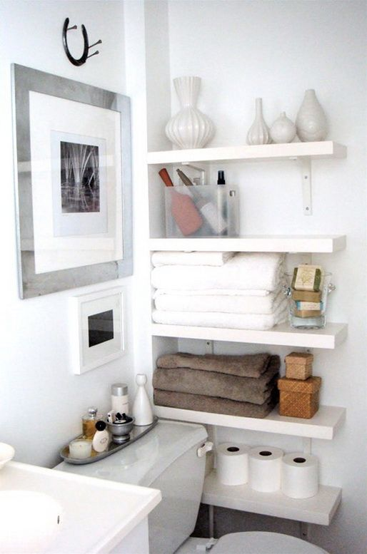 53 Bathroom Organizing And Storage Ideas - Photos For Inspiration .