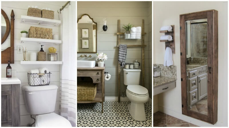 9 Best DIY Small Bathroom Storage Ideas | Wisconsin Homemak