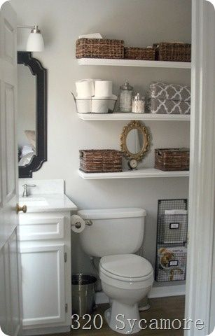 Storage Solutions for a Small Bathroom | Home, Small bathroom, New .