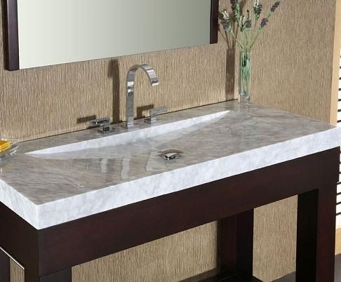 Integrated Stone Sinks – Bathroom Vanities With A Stylish Twist .