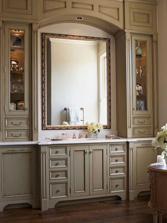 Bathroom Vanity Ideas | Bathroom vanity cabinets, Home, Vanity .