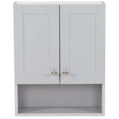Pearl Gray - Bathroom Wall Cabinets - Bathroom Cabinets & Storage .