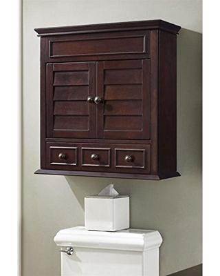 Great Sales on Crosley Furniture Lydia Bathroom Wall Cabinet, Espres