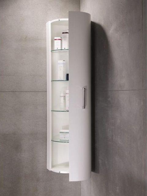 corner bathroom wall cabinet | Bathroom corner cabinet, Bathroom .