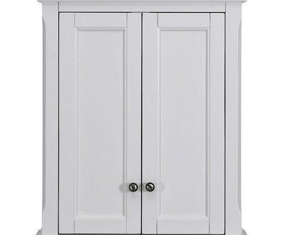 Scott Living Roveland 24-in W x 28-in H x 10-in D White Bathroom .
