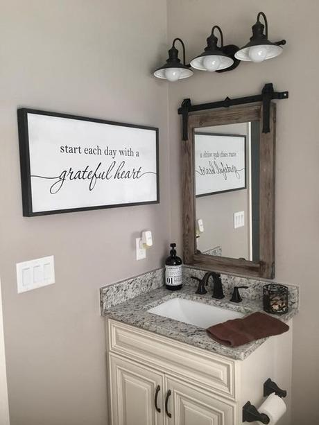 Bath Wall Decor Ideas - Easy Craft Ide