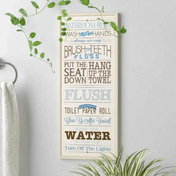 38 Beautiful Bathroom Wall Decor Ideas That Add Modern Fla