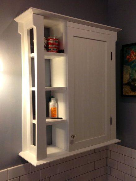 Bathroom wall cabinet … | Muebles para baños pequeñ