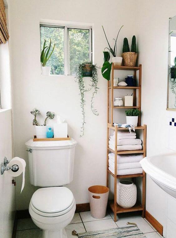 28 Small Bathroom Storage Ideas to Getting Clutter Away - Harp Tim