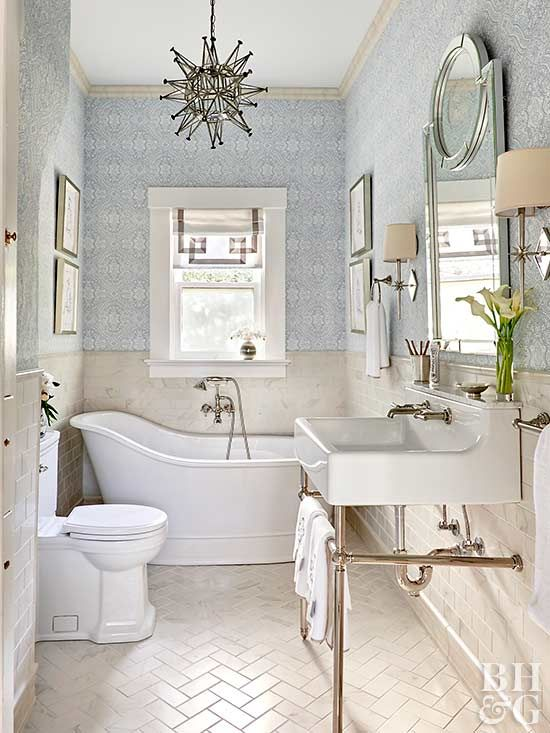 Traditional Bathroom Decor Ideas | Traditional bathroom, Bathroom .