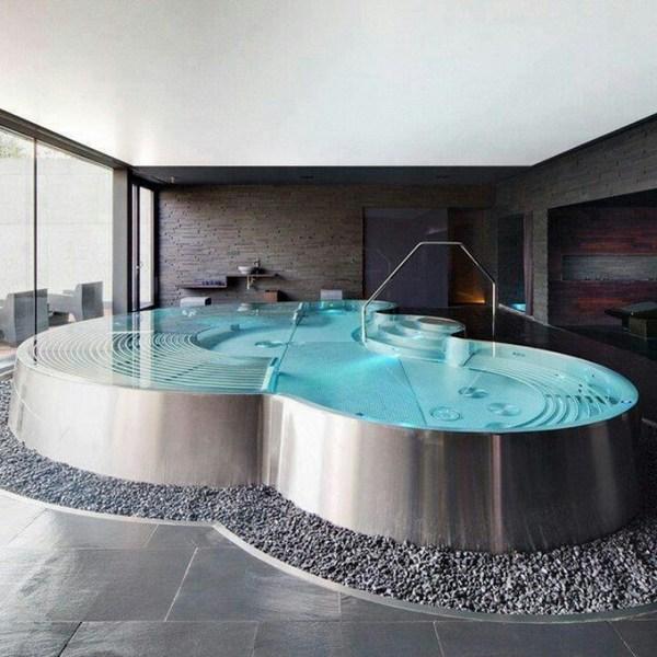 How to choose a bathtub - bathroom designs with large bathtu