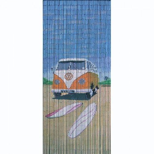 Beaded Door Curtains - Surfer Camper (With images) | Beaded door .