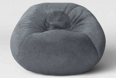 Fuzzy Bean Bag Chair - Pillowfort™ : Targ