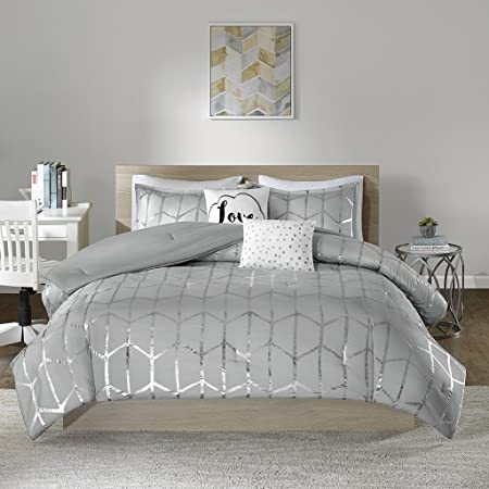 Amazon.com: Intelligent Design Raina Comforter Set Twin/Twin XL .