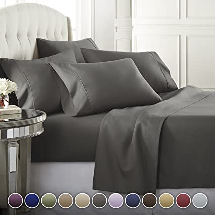 Amazon.com: Danjor Linens 6 Piece Hotel Luxury Soft 1800 Series .