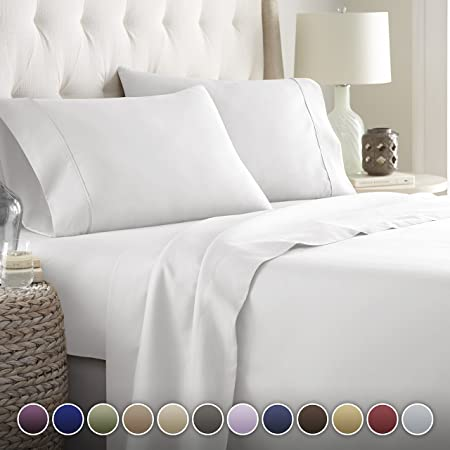 Amazon.com: Hotel Luxury Bed Sheets Set- 1800 Series Platinum .