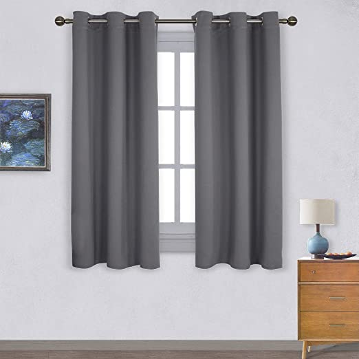 Amazon.com: NICETOWN Thermal Insulated Grommet Blackout Curtains .