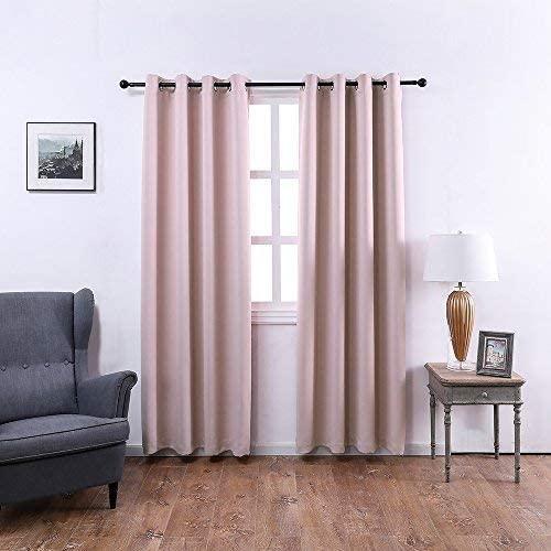 Amazon.com: MANGATA CASA Bedroom Blackout Curtains Grommets 2 .