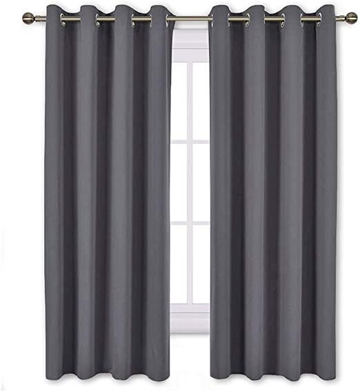 Amazon.com: NICETOWN Bedroom Blackout Curtains Panels - Window .