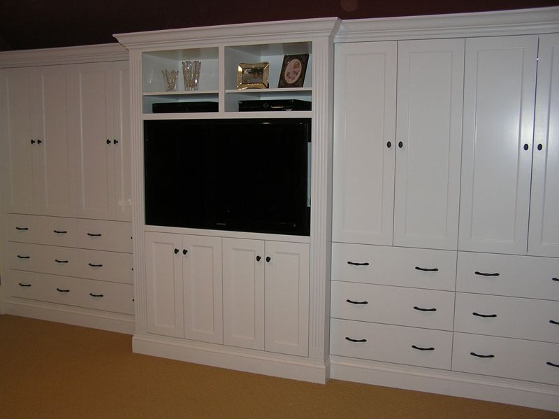 Custom Built-In Bedroom Cabinetry by Cabinetmaker Cabinets By Alan .