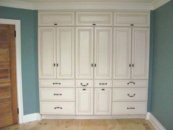 Master Suite Masterpiece | Build a closet, Bedroom built ins .