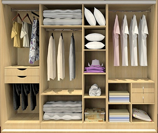 Top 9 Modern and Luxurious Bedroom Cabinets Design Ide