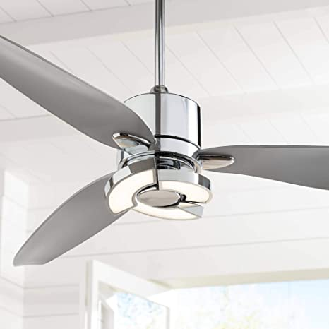 "56"" Vengeance Modern Ceiling Fan with Light LED Remote Control ."