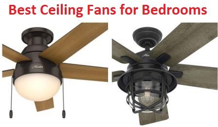 Top 15 Best Ceiling Fans for Bedrooms in 20