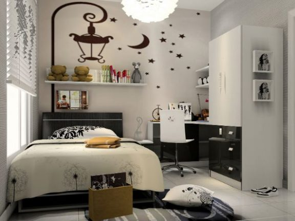 Pastoral style bedroom decoration | | We provide you with style .