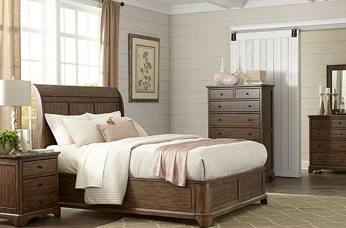 Furniture Gunnison Solid Wood Bedroom Furniture Collection .