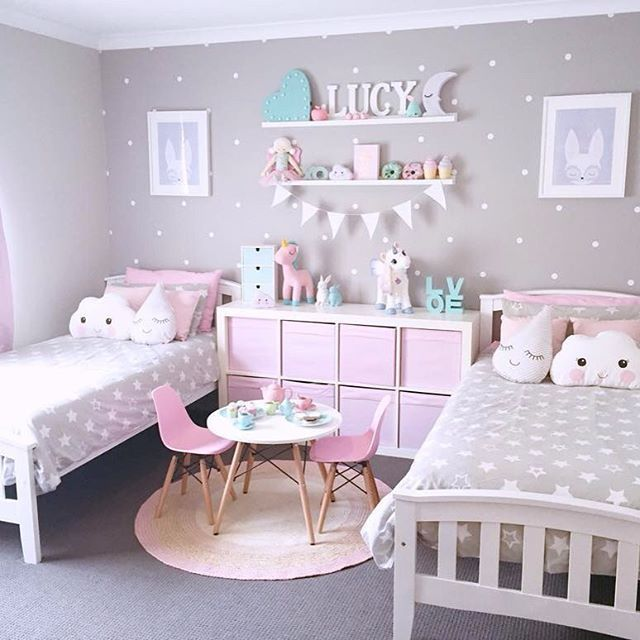 Wonderful ideas for girls bedrooms to arrive at unique decorations .