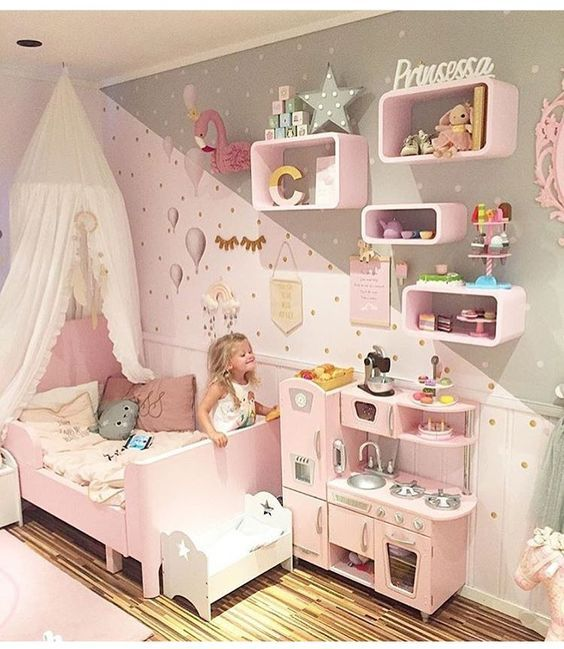 Adorable Toddler Girl Bedroom Ideas on a Budget | Toddler bedroom gi