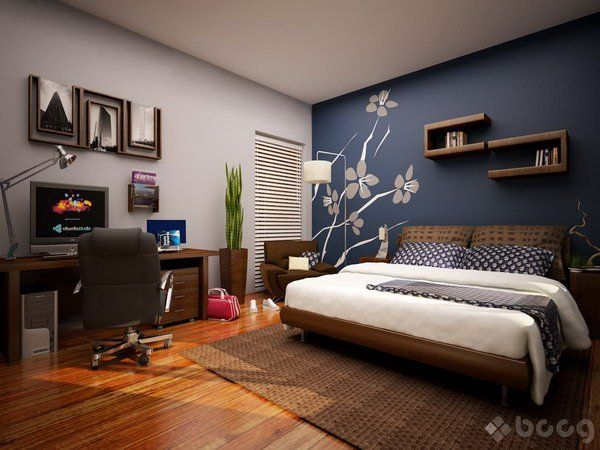 45 Beautiful Paint Color Ideas for Master Bedroom | Bedroom wall .