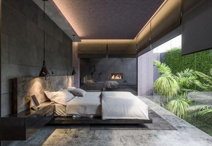 41 Amazing Neutral Minimalist Bedroom Design Ideas - homelizm.c