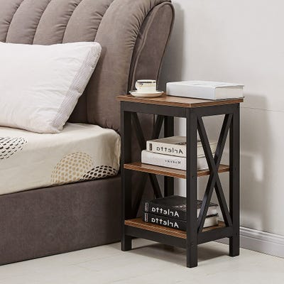Buy Size No Drawers Nightstands & Bedside Tables Online at .