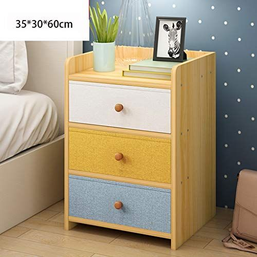 Bedside table GJM Shop Cloth Drawer Assembly Economic Type Bedside .