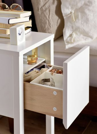 US - Furniture and Home Furnishings | Bedside table ikea, Small .