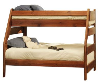 Trend Wood Sedona High Sierra Twin/Full Bunk Bed | Homemakers .