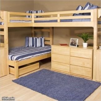 Boys Bunk Beds Twin Over Full - Ideas on Fot