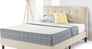 Amazon.com: Best Price Mattress Queen Bed Frame - Liz Upholstered .