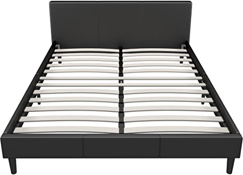 Amazon.com: Manhattan Queen Bed Frame   Modern Style Low Profile .