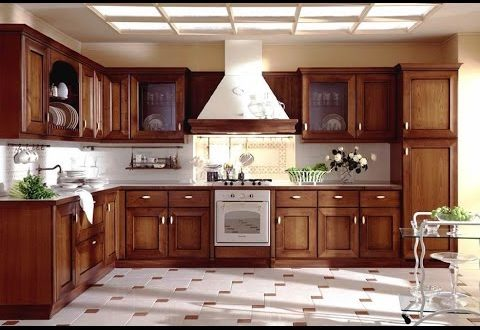 Best Kitchen Cabinets - Best Wood for Kitchen Cabinets - YouTu
