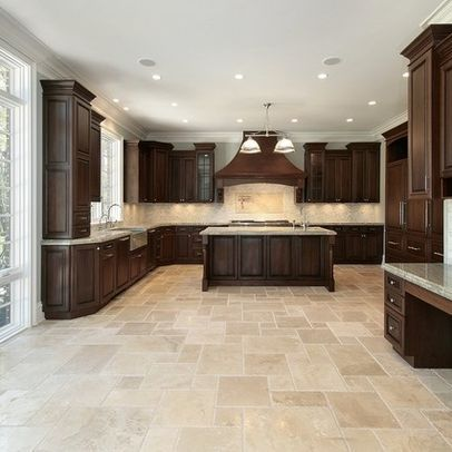 9+ Kitchen Flooring Ideas | Traditional kitchen design, House .