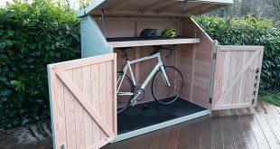 Spokeshed 3 solid timber bike shed | The Bike Shed Company | ESI .