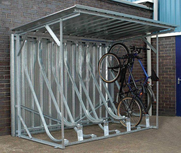 Image result for trimetals bicycle storage shed | Bicycle storage .